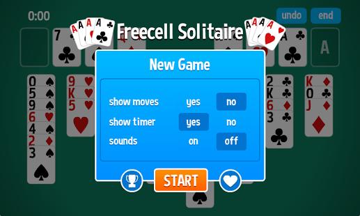 Capture d'écran FreeCell Solitaire HD