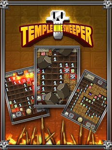 Capture d'écran Temple Minesweeper – Puzzle