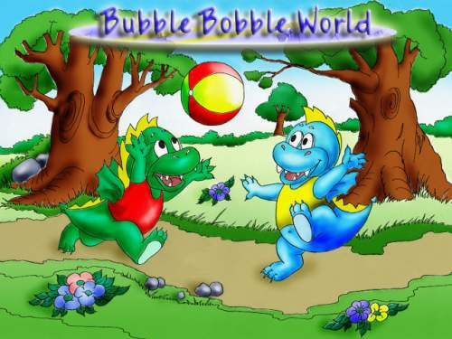 Capture d'écran Bubble Bobble Planet