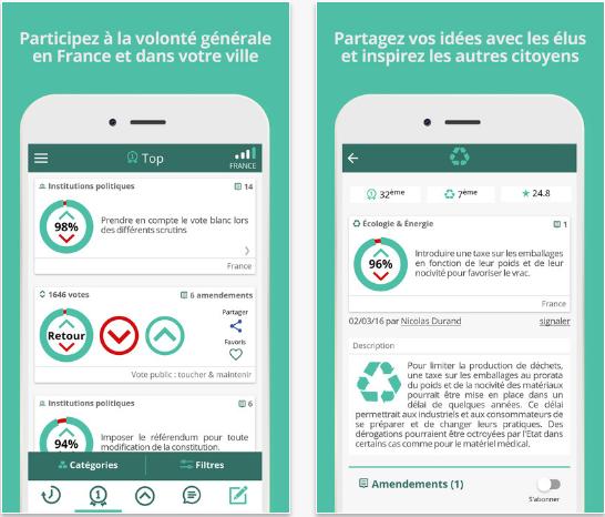Capture d'écran Stig Android