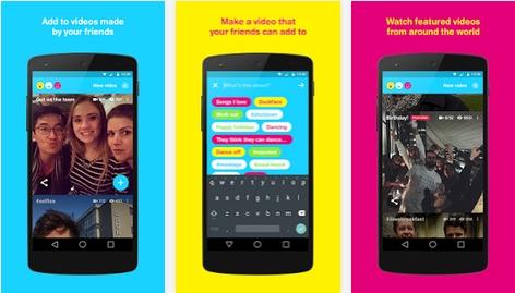 Capture d'écran Riff Android
