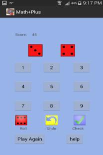 Capture d'écran Math Plus