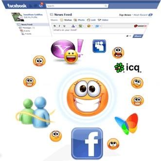 Capture d'écran SweetIM for Facebook
