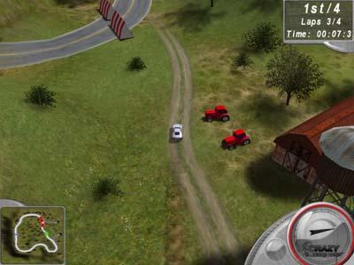 Capture d'écran Crazy Racing Cars