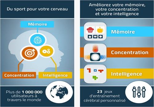 Capture d'écran NeuroNation iOS