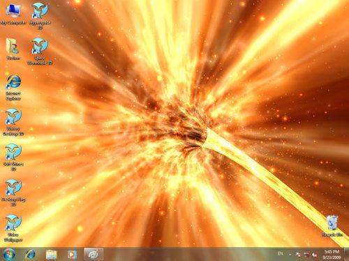 Capture d'écran Animated Wallpaper – Space Wormhole 3D