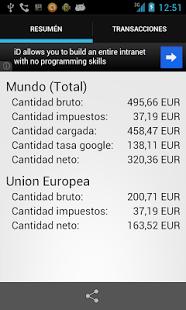 Capture d'écran Reader Wallet