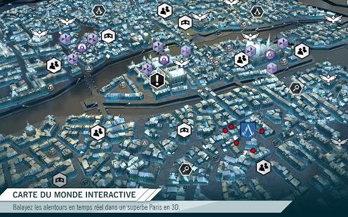 Capture d'écran Assassin's Creed Unity Companion App Windows Phone