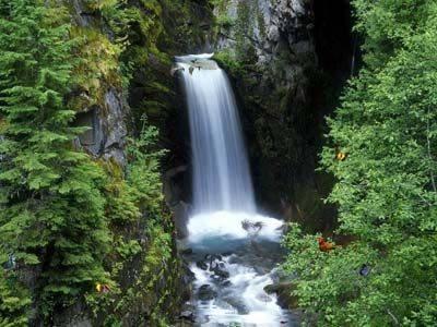 Capture d'écran Charming Waterfalls Screensaver