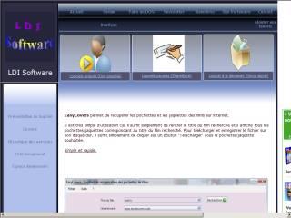 Capture d'écran EasyCovers