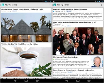 Capture d'écran Zite Android