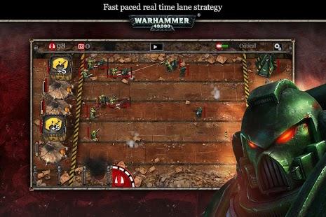 Capture d'écran WH40k: Storm of Vengeance