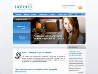 Capture d'écran Hotello