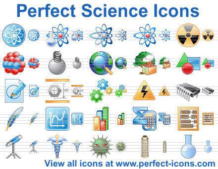 Capture d'écran Perfect Science Icons