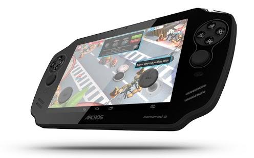 Capture d'écran Archos Mapping Tool (GamePad)