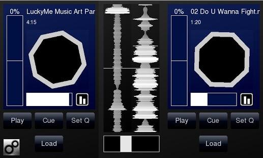 Capture d'écran DJPad Turntable DJ Mixer