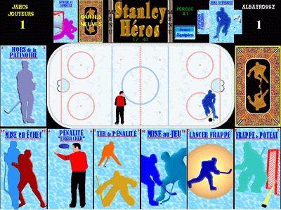 Capture d'écran StanleyHéros Hockey Exercice