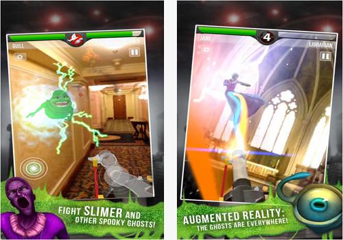Capture d'écran Ghostbusters Paranormal Blast iOS