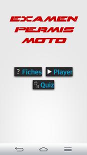 Capture d'écran (New) Examen Permis Moto