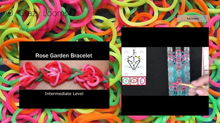 Capture d'écran Rainbow Loom Windows Phone