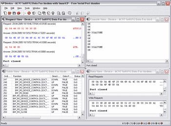 Capture d'écran Free Serial Port Monitor