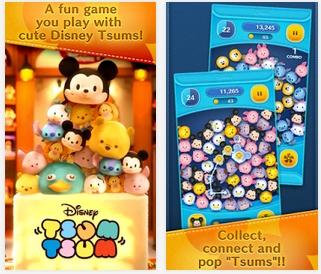 Capture d'écran Disney Tsum Tsum Android