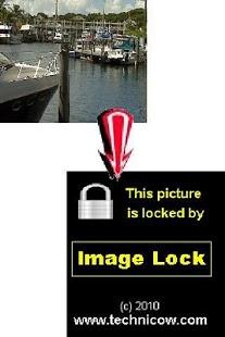Capture d'écran Image Lock