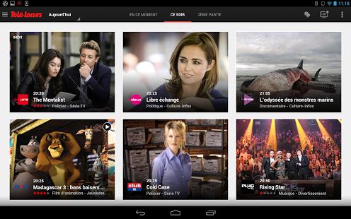 Capture d'écran Télé-Loisirs Belgique