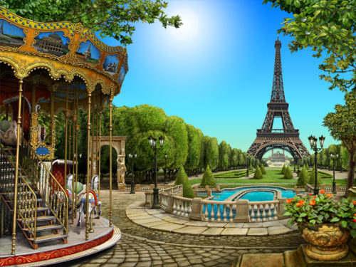 Capture d'écran Around the World: Paris
