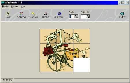 Capture d'écran WinPuzzle