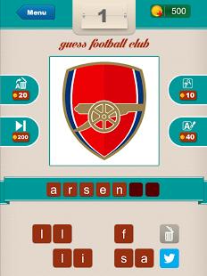 Capture d'écran Guess Football Club ?