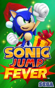 Capture d'écran Sonic Jump Fever