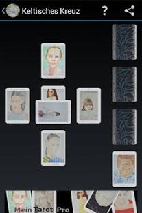 Capture d'écran Mein Tarot