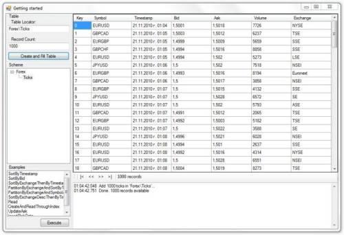 Capture d'écran STSdb