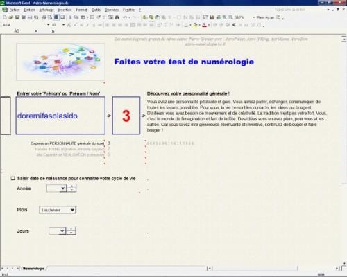 Capture d'écran Astro-Numerologie