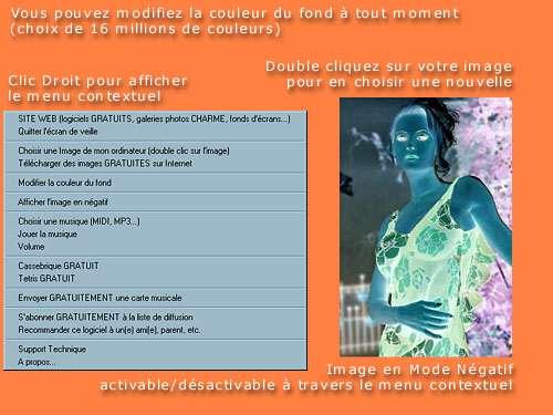 Capture d'écran Mon Ecran de Veille Multimedia Gratuit MP3