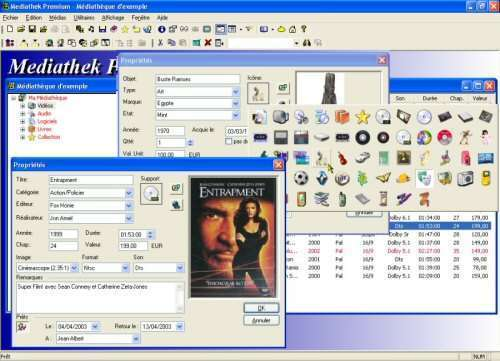 Capture d'écran Mediathek Premium