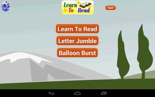 Capture d'écran Apprendre à Lire en anglais