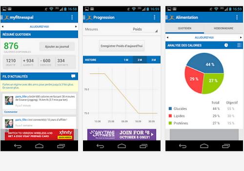 Capture d'écran Compteur de Calories iOS