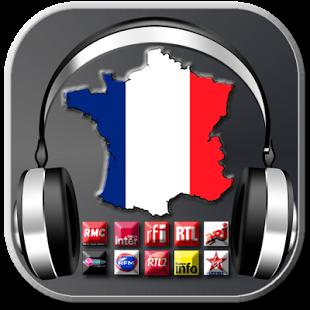 Capture d'écran France Radio -Top Radio France