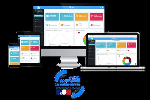 Capture d'écran Mon-AutoEntreprise.fr   Logiciel Auto-Entrepreneur 2019