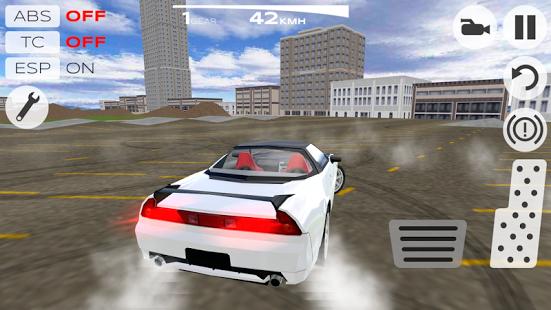 Capture d'écran Extreme Pro Car Simulator 2014