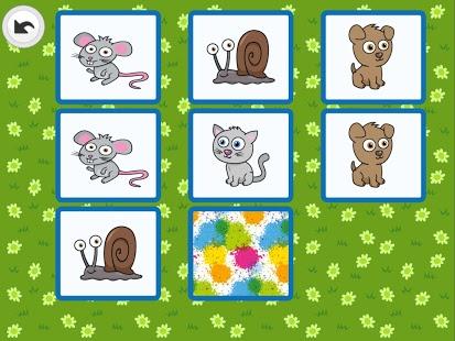 Capture d'écran Memo ferme pour enfants