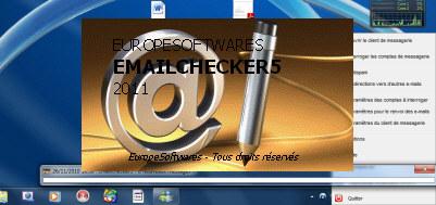 Capture d'écran EmailChecker5 Mac