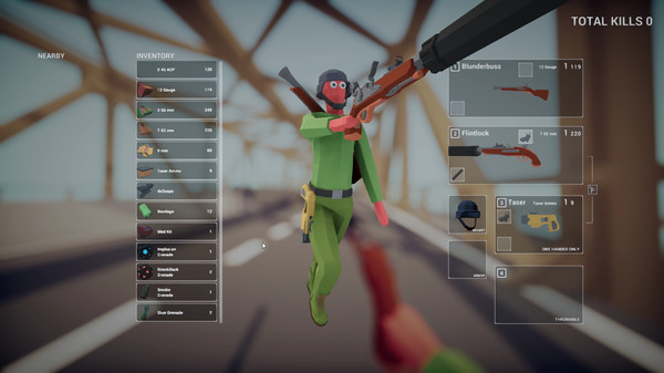 Capture d'écran Totally Accurate Battlegrounds