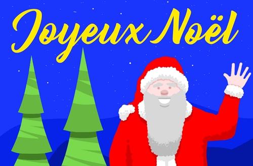 Capture d'écran Kit pour cartes de Noël 2019