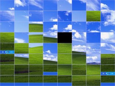 Capture d'écran Shuffle Desktop Screensaver
