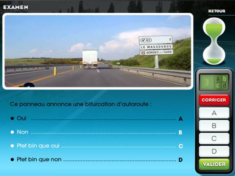 Capture d'écran Réussir l'examen officiel du code de la route Mac