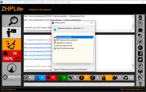 Capture d'écran ZHPLite