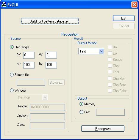 Capture d'écran Screen OCR SDK Library